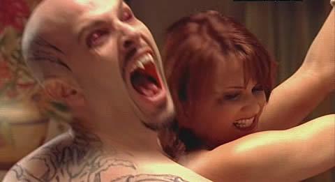 Damien Baiser, sauf en vampire