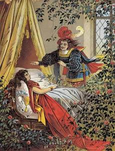 conte de fée la belle au bois dormant