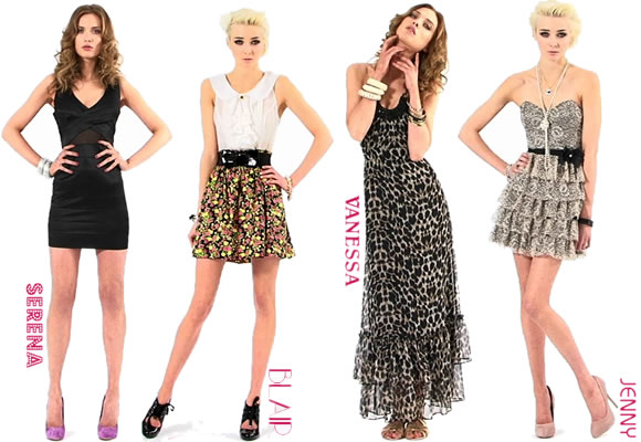 Collection Gossip Selfridge Miss Chez Girl lu3cFKT1J