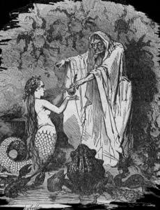 conte de fée petite sirène