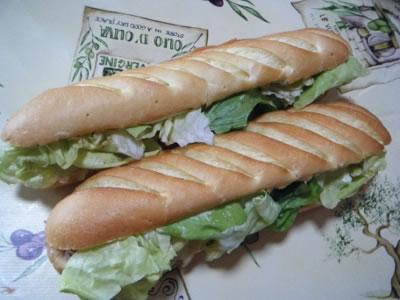 recette sandwich froid