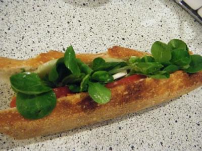 recette sandwich froid vegetarien