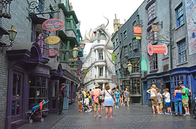 Le parc d'attractions Harry Potter à Orlando