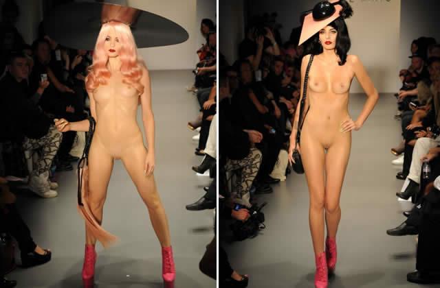 charlie le mindu défilé fashion week londres