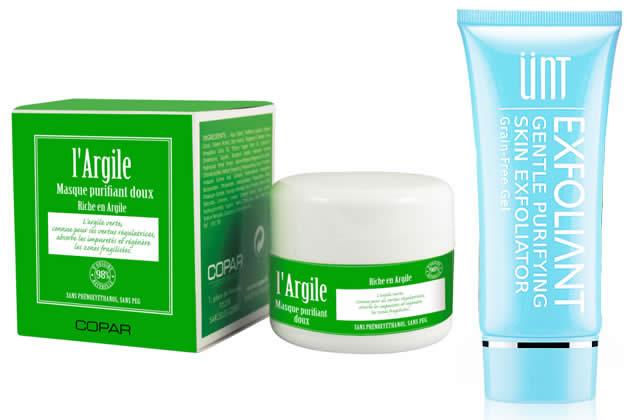 gommages peau sèche et sensible
