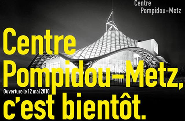 le centre pompidou c'est pour bientôt affiche
