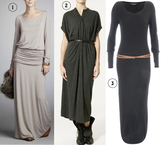 Nouvelle tendance automne/hiver 2010 2011  les robes longues