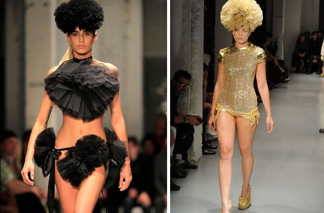 pam hogg défilé fashion week londres