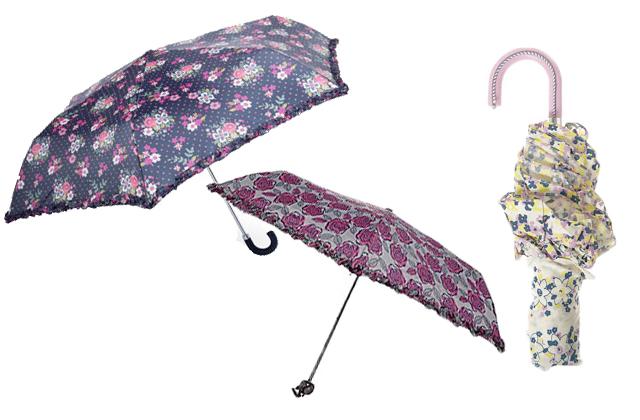 Parapluies à fleurs