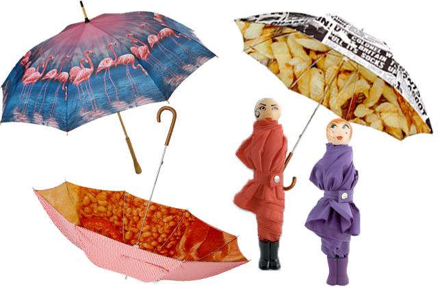 parapluies pylones