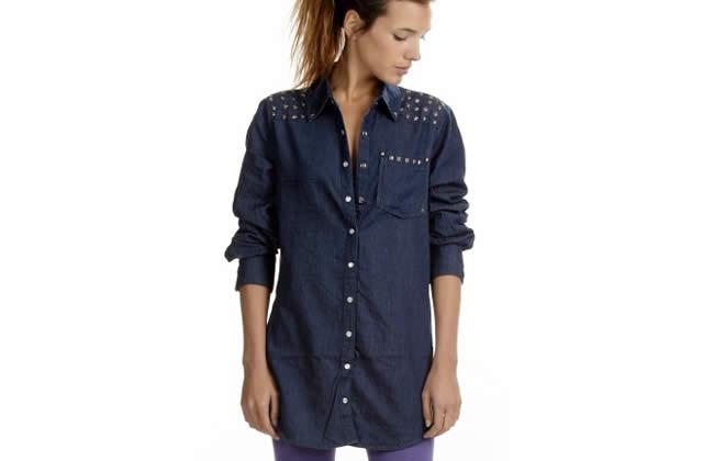 chemise en jean ichi monshowroom Mix n' Match