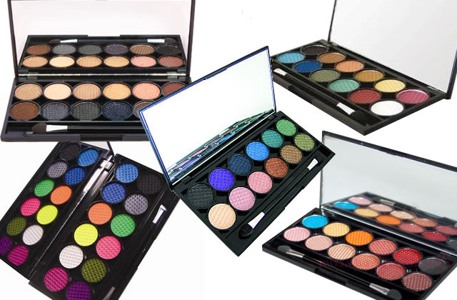 Test beauté – La Palette Original Sleek