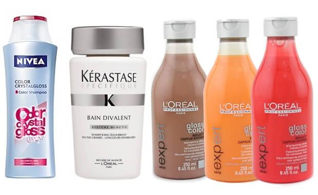 shampoings cheveux colorés