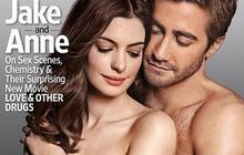 Jake Gyllenhaal et Anne Hathaway posent ensemble et à moitié nu
