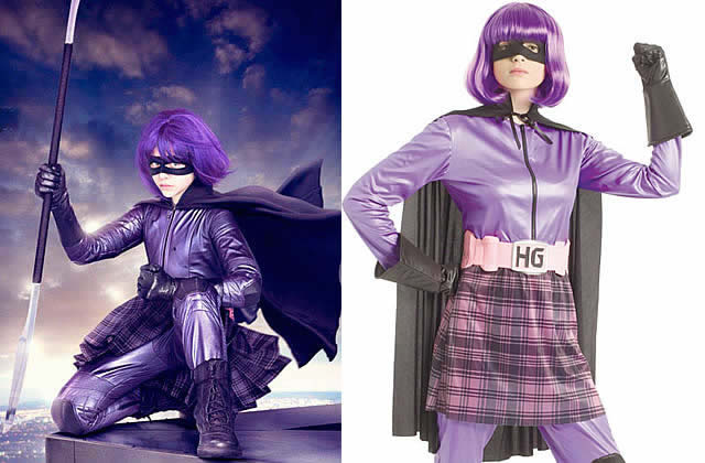 Idée cadeau pourrie #5 : le costume de Hit Girl