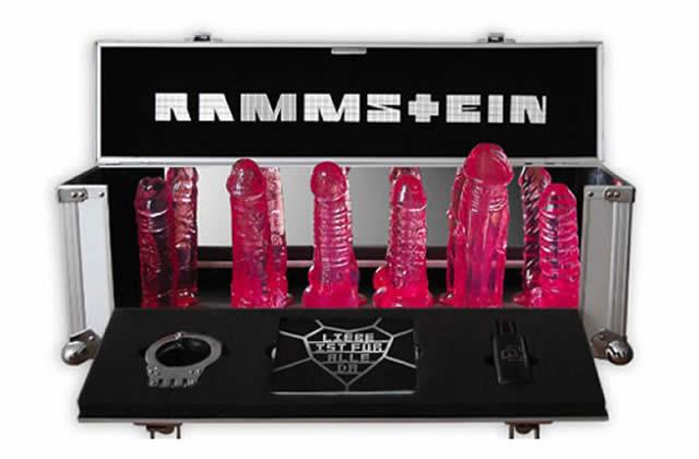 Idée cadeau pourrie #8 : les godemichés Rammstein
