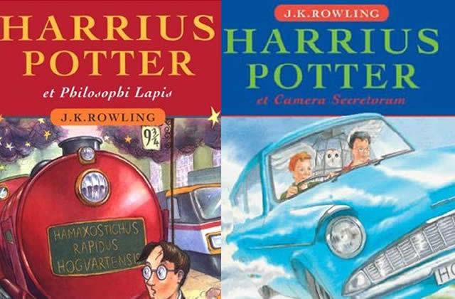 Idée cadeau pourrie #2 : les livres Harry Potter en latin