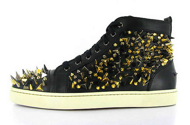 Les sneakers pointues de Christian Louboutin