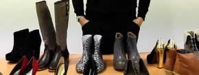 Les tendances chaussures de l'hiver en vidéo
