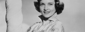 Betty White, pin-up des années 50