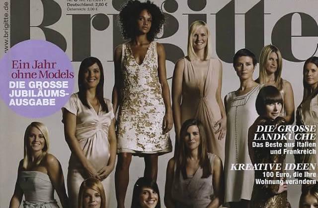 Le magazine allemand Brigitte fait poser des immigrées
