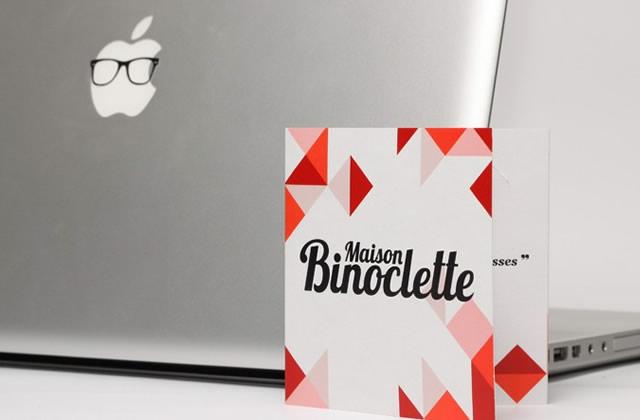 Maison Binoclette – Colle des lunettes à ton Mac