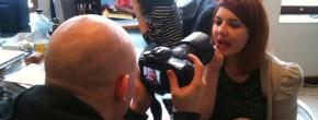 Vidéo de voeux 2011 : les photos du tournage, sans spoiler le tournage