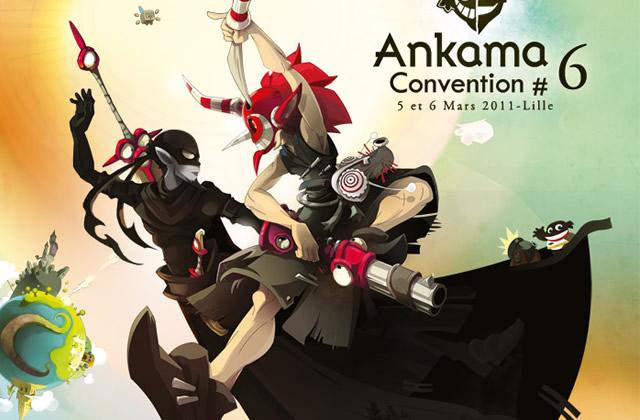 Ankama Convention #6 à Lille, les 5 et 6 Mars 2011