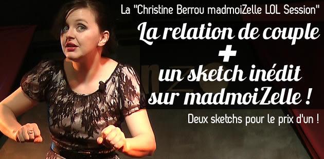 Christine Berrou : son sketch inédit à propos de madmoiZelle