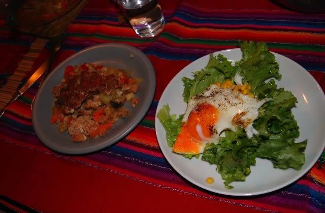 Recette végétarienne : un crumble de légumes