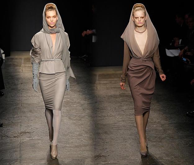 defilé donna karan fashion week 2011 2012
