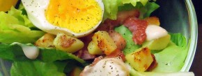 Recette — La salade Vosgienne