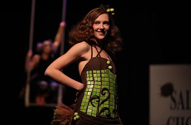 Salon du Chocolat Lille 2011 : les robes du défilé