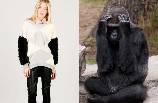 Mardi Pas Permis : le pull gorille