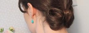 Tuto coiffure : un chignon noeud