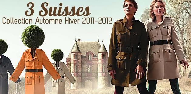 3 Suisses : la collection automne hiver 2011 2012