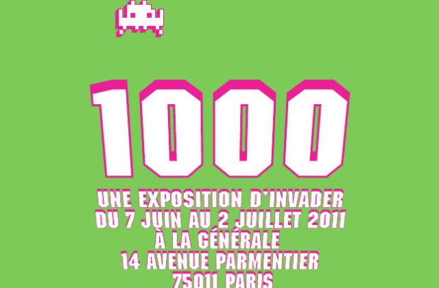 Invader 1000, l'expo du moment à La Générale
