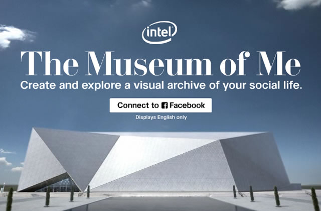 The Museum of Me : l'exposition de ton compte Facebook