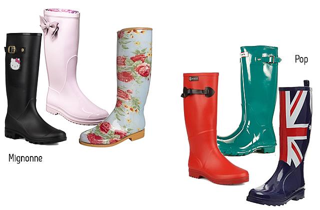 3 suisses bottes de pluie