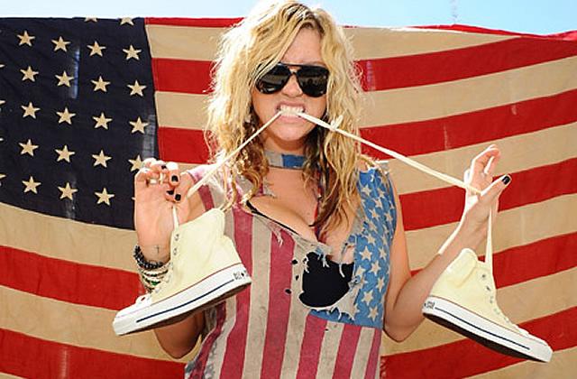 Drapeau américain : le tee-shirt patriotique