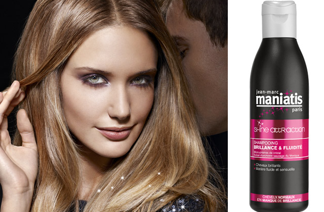 Shampoing Shine Attraction de Maniatis : le test