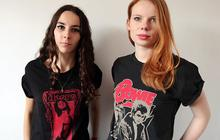 Des t-shirts The Doors et David Bowie chez Zara