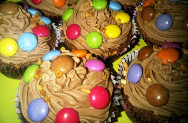 Recette des cupcakes au Nutella