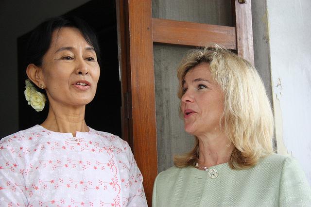 Double actualité pour Aung San Suu Kyi