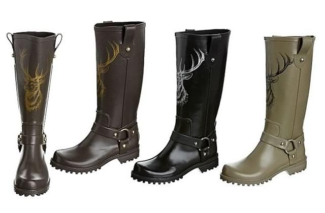 Bottes de pluie – Tendances Chaussures Automne Hiver 2011 2012