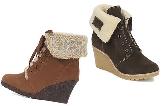 Bottines fourrées – Tendance chaussures Automne Hiver 2011 2012