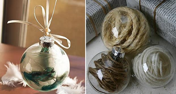 Diy Boule De Noel.Décoration Diy De Noël 1