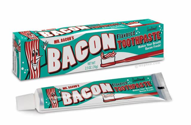 Le dentifrice au bacon – Idée cadeau pourrie #3