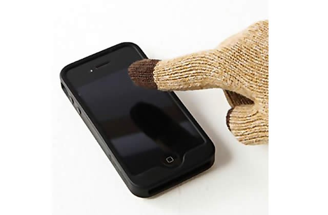 Les gants écran tactile de Muji – Idée cadeau cool #13