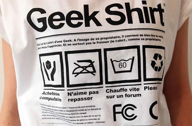 le geek shirt de decate id e cadeau cool 3. Black Bedroom Furniture Sets. Home Design Ideas